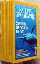 REVISTA NATIONAL GEOGRAPHIC EN ESPAÑOL - 10 EJEMPLARES AÑO 2007 - VER FOTOS