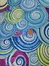 Kaffe Fassett Spiral Shells Cotton Fabric Remnant