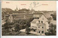 Erster Weltkrieg (1914-18) Frankierte Ansichtskarten aus den ehemaligen deutschen Gebieten