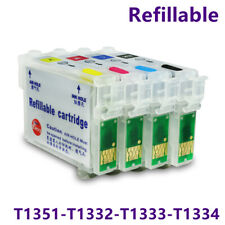 1set compatible Epson T1351 refill ink cartridge for Epson StylusT25 TX123 TX125