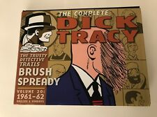 The Complete Dick Tracy Volume 20 1961-62 Dailies and Sundays (Hardcover) <New>