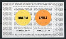 Denmark 2018 MNH Yoko Ono Dream Smile 2v M/S Art Design Stamps