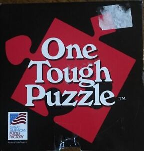 One Tough Puzzle - 2003 Brain Teaser Challenge - Great American Co #120 9pc