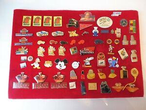 Collection Beau Pins, 64 Pièce, Divers Thèmes: Sport, Voitures, Parfums