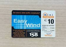 RICARICA TELEFONICA WIND - EASY WIND - 10,00 EURO