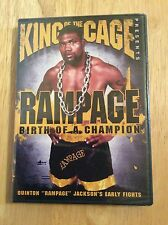 King of the Cage - Rampage: Birth of a Champion (DVD, 2007) New Sealed