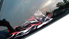 Weißkopfseeadler Amerikanisch Flagge Aufkleber - 2pc Set Für Chevy Ford Auto Lkw