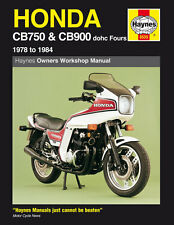 Haynes Manual 0535 - Honda CB750 & CB900 DOHC Fours 78-84 workshop/service