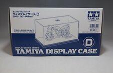 73005 TAMIYA DISPLAY CASE D 1/12 BIKES DISPLAY CASES FOR MODEL KIT
