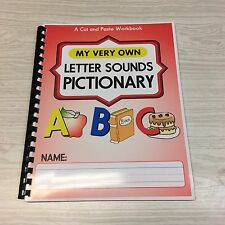 Letter Sounds Pictionary - Pre-school - Kindergarten 40 pages - Set of`10
