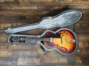 Vintage 1967 Guild T50 Slim Hollow Body Sunburst Electric Guitar No Reserve!