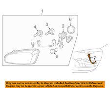 Chevrolet GM OEM 04-05 Malibu Headlight Head Light Lamp-Harness 15257207