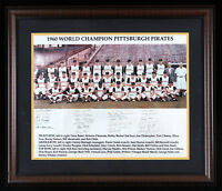 1960 Pittsburgh Pirates World Series Champs Signed Framed 16x20 Photo PSA DNA