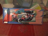 vintage Motocross Pencil Case Go! Good Rider NICE 1980s