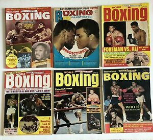 World Boxing Illustrated International Muhammad Ali Joe Frazier Lot 6 NO LABEL