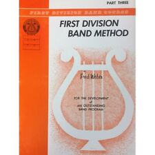 First Division Band Method Part 3 - Baritone B.C. Bass Clef