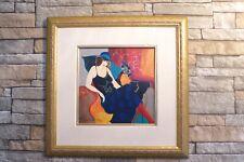 Itzchak Tarkay, Nellie, Serigraph hand embellishment, framed, hand signed