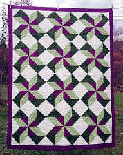 WHIRLWIND STARS QUILTING PATTERN, From Cut Loose Press Patterns NEW
