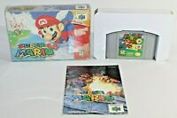 Super Mario 64 N64 Nintendo 64 Complete CIB Authentic & Tested! Works Great!