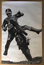 Super Jump Original Vintage Poster Motocross Dirt bike Rider Pin-Up Photo Pic