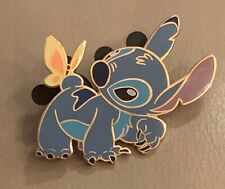 Disney Auctions Da P.I.N.S 31213 Stitch as Bambi with Butterfly Pin Le 1000