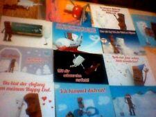 21 Kinderriegel Postkarten Milky & Schoki - NEU & RAR!