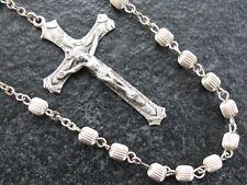 Sehr schöner alter Rosenkranz Gebetsrosenkranz aus Sterling Silber