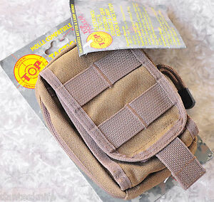 TOPS Gear, Small Utility/Electronics Pouch, Coyote Tan, Superb Organization
