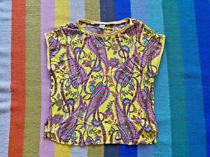 Emily van den Bergh wunderschönes Shirt mit Paisley 44/46 TOP Zustand!