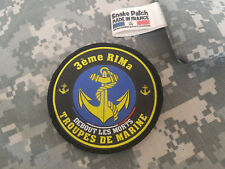 """SNAKE PATCH - écusson TDM """" 3ème RIMa """" troupes de Marine FRANCE opex MARSOUIN"""