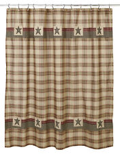 *** PLYMOUTH Shower Curtain ~ Country, Primitive***NEW