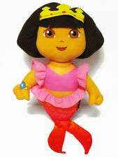 "Dora the Explorer Plush Doll 17"" high #M023 Mermaid Dress Kid Toy Girl Gift"