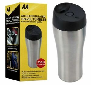 AA Travel Flask Vacuum Insulated Car/Work/Hiking,Hot or Cold-Tumbler/Cup/Mug