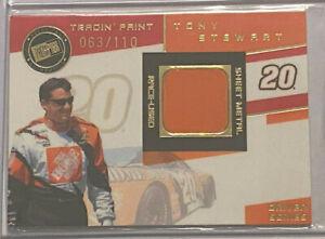 2003 Press Pass VIP Tony Stewart Tradin' Paint TPD 9 (063/110) Joe Gibbs Racing