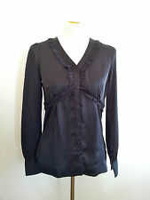 Effortless Style! Pepe Jeans size M black long sleeve top in excellent condition