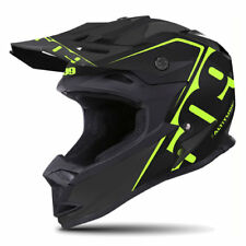 509 ALTITUDE MATTE LIME BLACK OFF ROAD SNOWMOBILE WINTER HELMET 2X