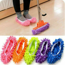 1Pcs lazy Mop Slipper Floor Polishing Cover Cleaner Dusting Cleaning Foot Shoes#