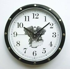 Harley Davidson Shovel-Pan Engine Wall Clock Hd