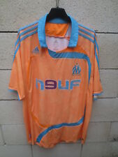 Maillot OLYMPIQUE de MARSEILLE ADIDAS 2008 orange OM third maglia camiseta XL