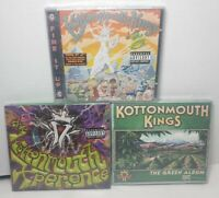 3 Kottonmouth Kings CDs: The Green Album, Fire It Up, The Kottonmouth Experience