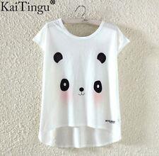 Blush Panda Light Summer T-shirt Kawaii Harajuku pastel goth-LS0044