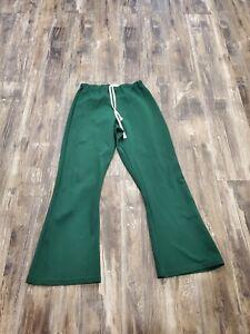 VTG 1970's 80's MacGregor Medalist Sand Knit Warm Up Pants Boston Celtics Colors