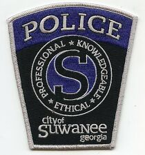 SUWANEE GEORGIA GA Professional - Knowledgeable - Ethical POLICE PATCH