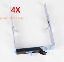 LOT of 4 SAS SATA Hard Drive Tray Caddy for IBM X3300 M4 X3250 M5 Server 69Y5342