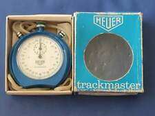Vintage Heuer Trackmaster Stopwatch Swiss Made