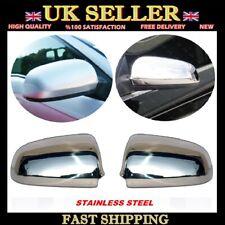 Chrome Mirror Cover 2 pcs S.STEEL Audi A3 S3 RS3 8P- A4 S4 B6 B7- A6 4B 4F C5 C6