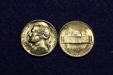 1953 D BU Jefferson Nickel From Original Roll