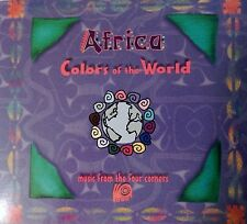 Africa: Colors of the World by Various Artists (CD 1998 Allegro) VG+ 9/10