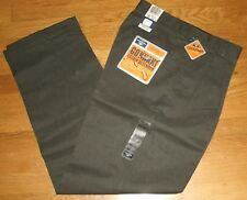 Dockers Go Khaki Dress Pants Pleated Cuffed Classic Fit Stain Defender 30x32 New