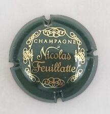 capsule champagne  NICOLAS FEUILLATTE n°12 vert foncé et or